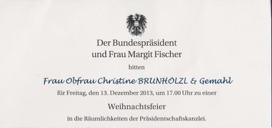 Einladung Weihnachtsfeier Verein.Verein Auf Augenhöhe Weihnachtsfeier Präsidentschaftskanzlei 2013